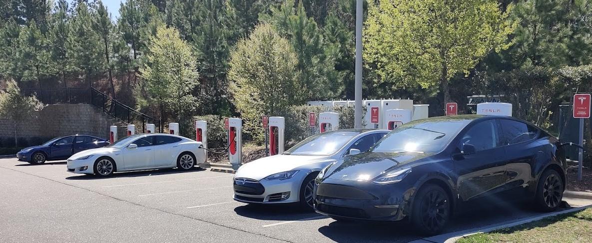 Powering a Tesla